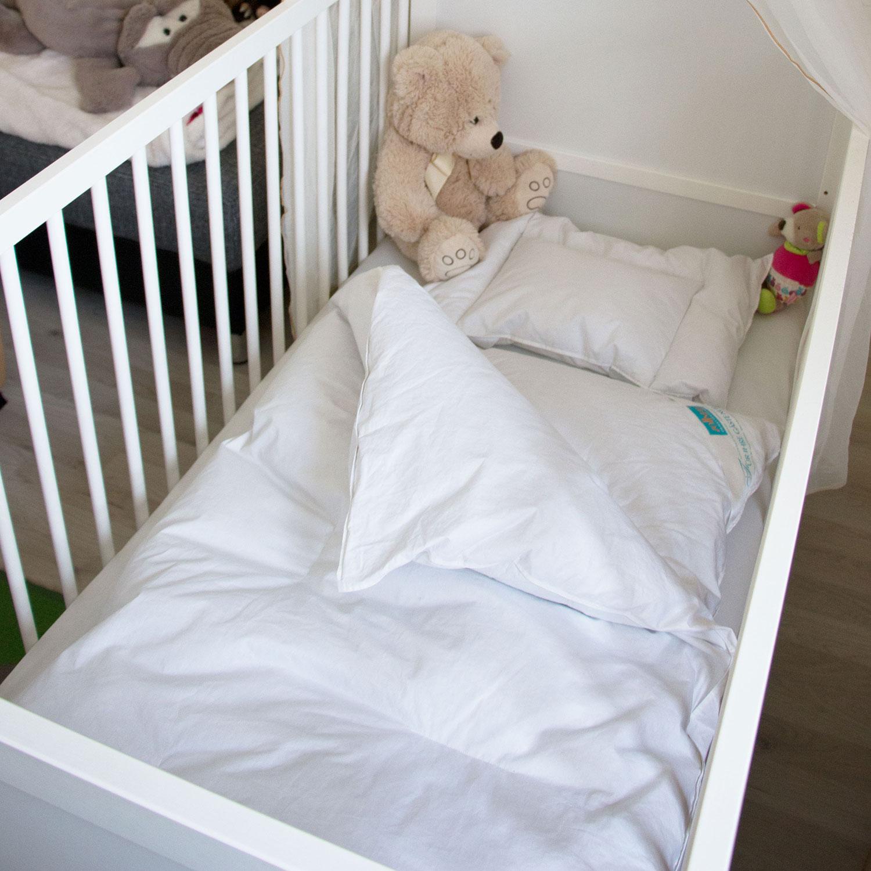 Set Kinderbettdecke oder 2tlg Babydecke Kinderkissen Babykopfkissen