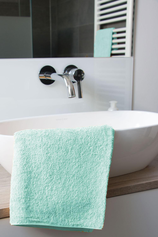 6er Set Handtuch 50x100 cm Gästehandtuch Duschtuch aus 100/% Baumwolle